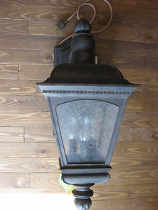NEW LARGE OUTDOOR WALL LIGHT #1