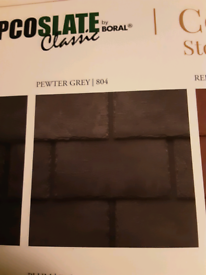 WANTED TAPCO GREY ROOF TILES AND TAPCO RIDGE TILES.