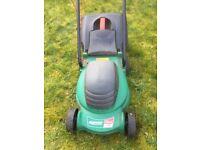 Qualcast 850W 32cm rotary lawn mower