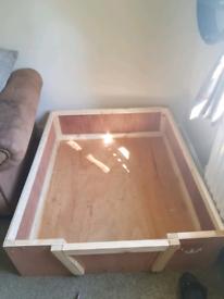 Dog whelping box 3 sizes