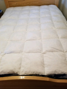 Feather quilt feather pillows king size queen size
