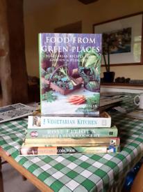 Vegetarian cook books various