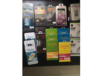 Various Screen Protectors - Tempered Glass - iPhone 6 / 5 Samsung S6 Edge ect all new job lot bundle