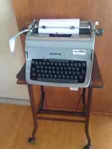 Typewritter and stand