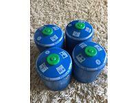 Camping Gas butane / propane 4x cv470 canisters