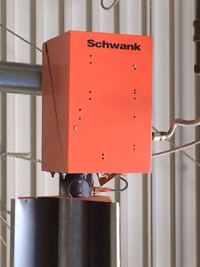 Schwank Natural Gas Radiant Tube Heaters - Price Negotiable