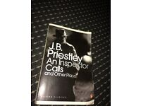 "JB PRIESTLEY'S ""An inspector Calls and Other Plays"""