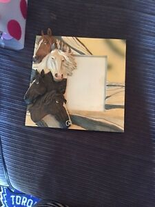 Selling horse photo frame
