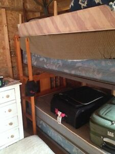 Bunk beds real wood sturdy
