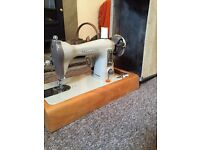 Vintage retro brother sewing machine like singer jones antique