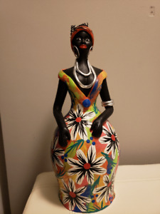 Clay Figurines Hand Painted
