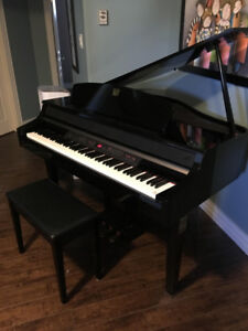 Yamaha Clavinova Digital Baby Grand Piano