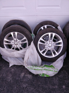Michelin Tires with Rims