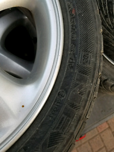 Mazda 5 bolt Alloy rims and tires