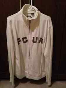 FRENCH CONNECTION WHITE SWEATSHIRT