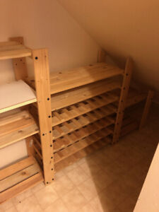 Wine Rack and Storage Shelving