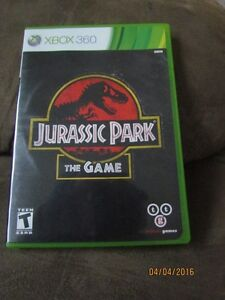 Xbox 360 Game: Jurassic Park The Game