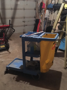 Commercial Janitorial Utility Cart