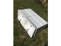 IKEA Godmorgon wash stand and wash basin with four drawers