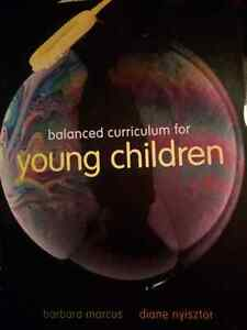Balanced curriculum for young children textbook
