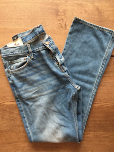 NEW Hollister Mens Boot Wash Jeans 34x34 BNW Cotton