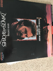Dances with wolves Laser Disc $10