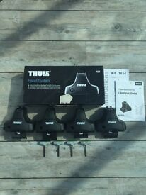 Thule 754 footpack with 1454 fixing kit.