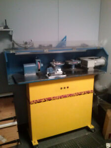 Fleming Gray Skate Sharpening Machine