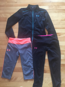 Under Armour girls clothing