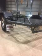 Multi purpose large flat bed single axle trailer Bulahdelah Great Lakes Area Preview