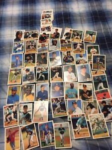 53 1993 Bowman Baseball Rookies All Different + 35 Common Cards St. John's Newfoundland image 1