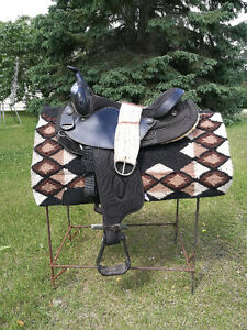 "16"" Bighorn trail saddle #105"