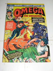 Marvel Comics Omega the Unknown#1 (1976) comic book
