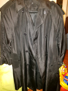 Black spring/fall coat woman's size 11-12