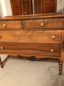 antique beech Sideboard