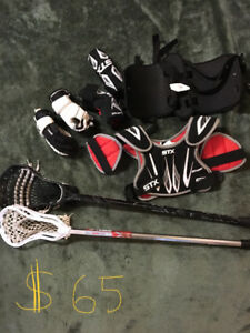 Lacrosse equipment size youth XS