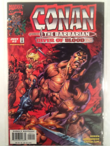 """Conan the Barbarian 1998 """" Lord of the Spiders """" etc. Comics 10"""