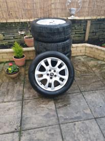 Land rover freelander 2 alloy wheels Set Of 5