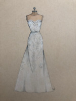 Wedding Dress Illustrations!