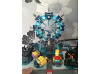 Lego Dimensions starter pack game ps4 and Bart Simpson pack