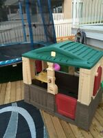 Step 2 outdoor house, 60$