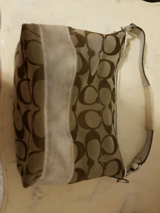 Coach shoulder bag.
