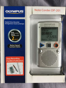 New Olympus Digital Voice Recorder
