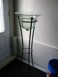 Contenant décoratif / Decorative container and stand