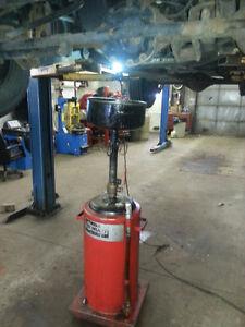 Tire/oil change,rustproofing/changement pneus/huiles antirouille