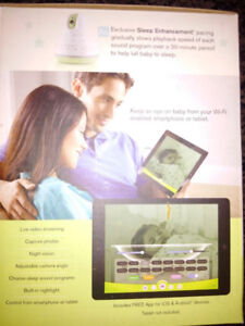 Video Baby Monitor, WiFi, iPhone & Android Compatible