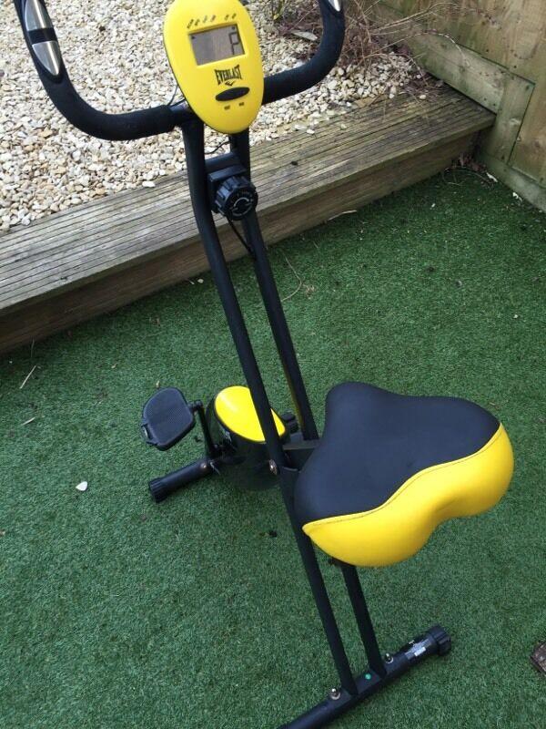 Everlast Ev410 Folding Magnetic Exercise Bike In Yate Bristol
