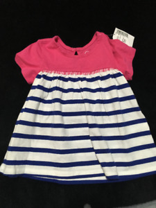 Girls dresses /sweater - all new with tags 0-3 months