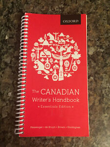 The Canadian Writer's Handbook - essentials ed.