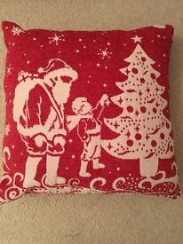 M&S Christmas Cushion